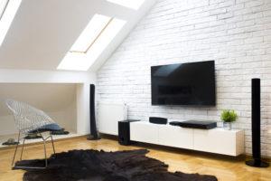 emplacement idéal pour son meuble TV