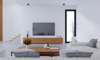 intégrer un meuble TV dans son salon