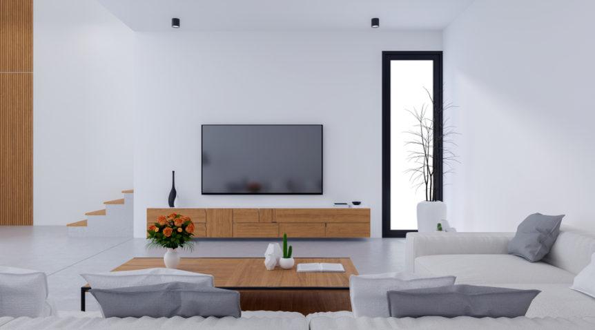Comment intégrer un meuble TV dans son salon?