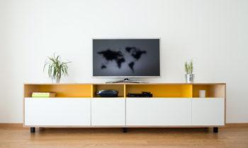 meuble TV pour son salon de style moderne