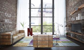 meuble TV pour son salon industriel