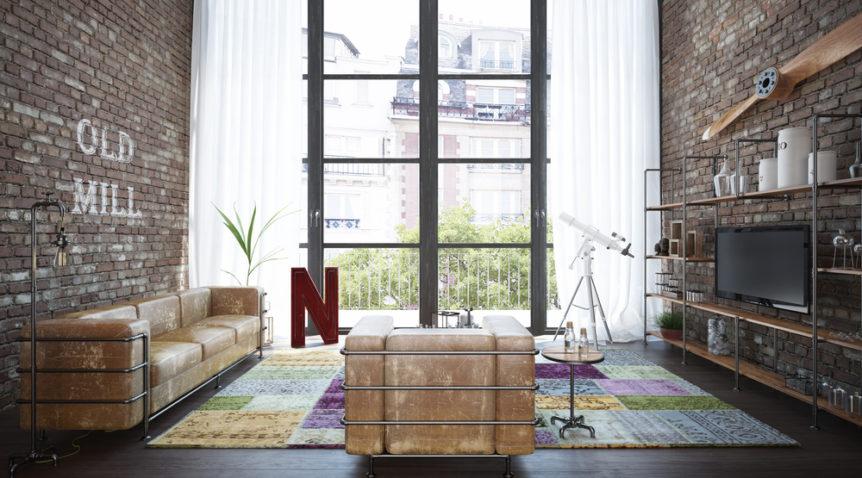 Trouver un meuble TV pour son salon industriel