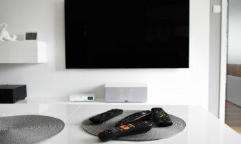 tv suspendu